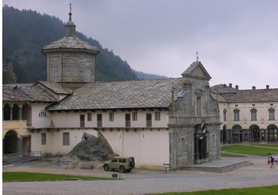Chiesa Vecchia, Sacro Monte di Oropa, Oropa, Piedmont, Italy