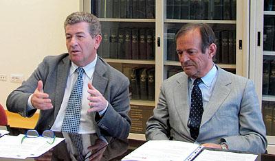 Gianfranco Zulian e Arnaldo Benech