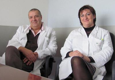 Graziano Gusmaroli ed Emanuela Schintone