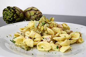 ricette-orecchiette-carciofi-mandorle-biella24
