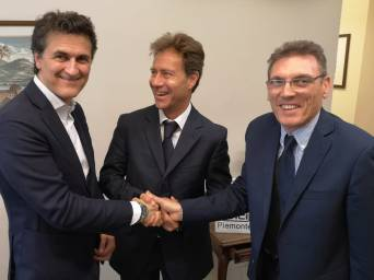 Alberto Avetta, Angelo Robotto, Mauro Barisone