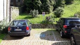 posto auto riservato disabili parcheggio Rosazza