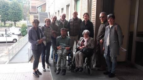 nuova rampa disabili palazzo pella 2