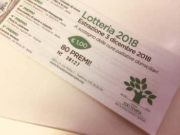 biglietti lotteria Fondo Edo Tempia 2018