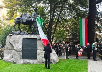 Inaugurazione del monumento restaurato