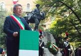 Marco Cavicchioli e monumento