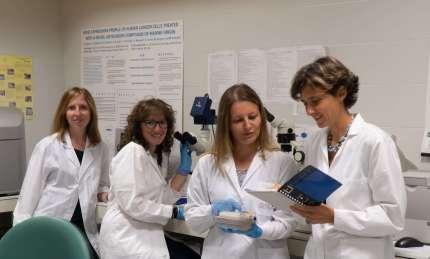staff laboratorio di genomica Fondazione Edo ed Elvo Tempia