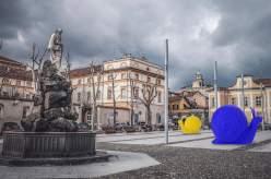 cracking art piazza Duomo 1