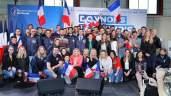 Lega Giovani e Le Pen meeting a La Rochette
