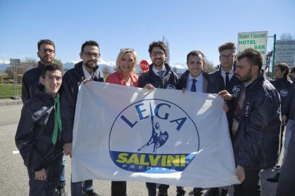 Lega Giovani e Le Pen