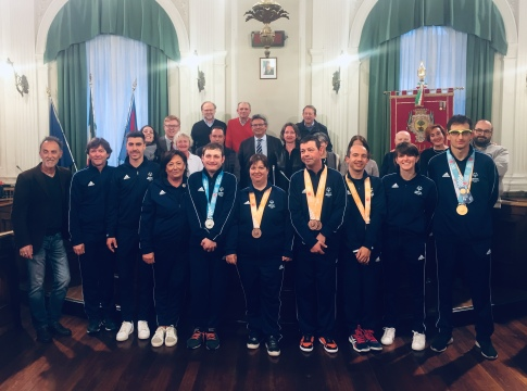 Special Olympics a palazzo Oropa
