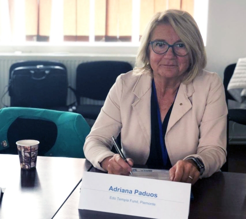 Adriana Paduos a Bucarest