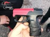 Pistola (con fiamma)