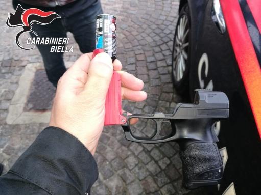 Pistola e Bomboletta (con fiamma)