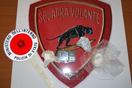 polizia arresto cocaina albanesi