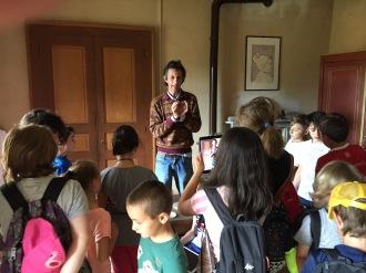 Pettinengo, Turista nel mio paese -10 visita museo dell'infanzia con Paolo