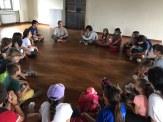 Pettinengo, Turista nel mio paese -3 alunni intervistano la presidente dell'associazione Pace e Futuro nella sede di villa Piazzo