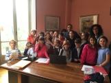 Pettinengo, Turista nel mio paese -9 visita biblioteca e intervista al sindaco Bosso