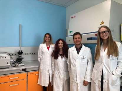 Staff laboratorio di oncologia molecolare