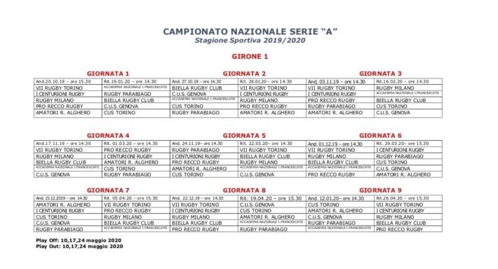 Serie A 19_20 Girone 1