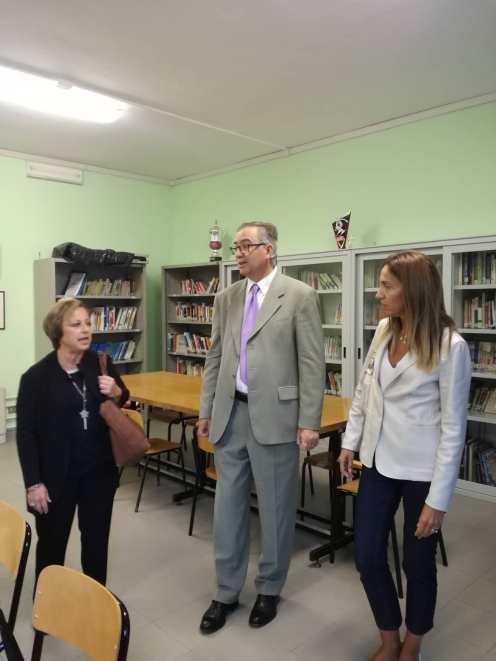 biblioteca scuola media assessore Di Lando - Sindaco - Assessore REg Chiorino