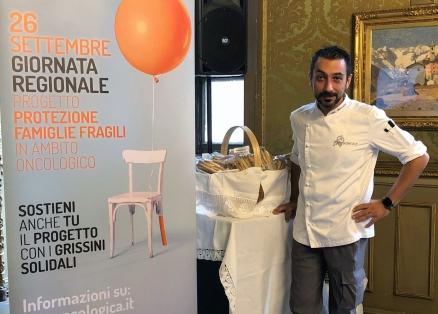 Chef Igor Macchia progetto protezione famiglie fragili