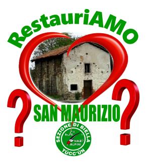 logo restauriAMO San Maurizio