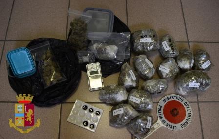 sequestro droga polizia settembre 2019