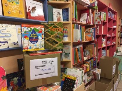 l'angolo della libreria Robin di ioleggoperchè dedicata alla Primaria di Bioglio