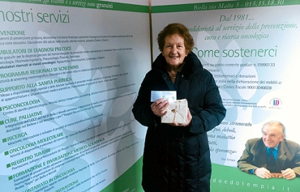Adriana Boggiani vincitrice primo premio