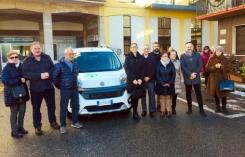 Consegna nuova auto volontari Ponzone